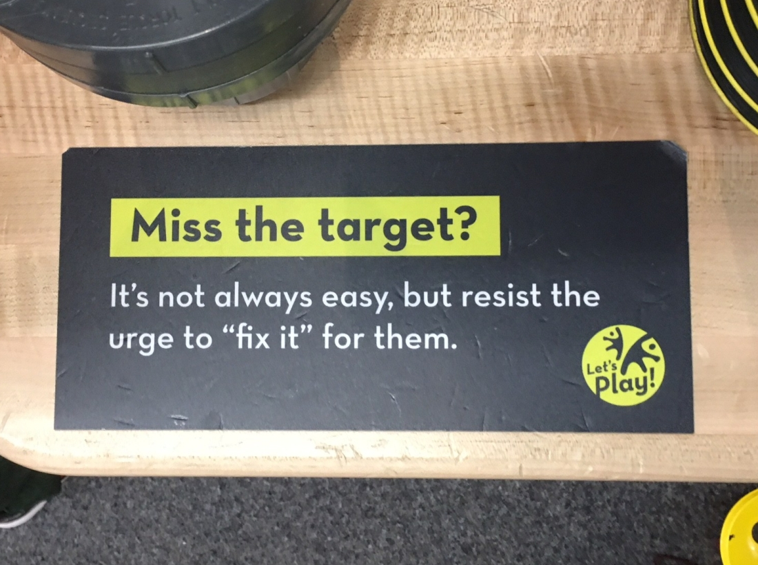 miss the target